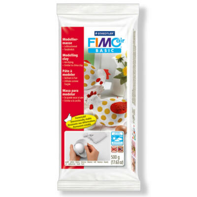 FIMO Air Basic levegőn száradó gyurma 500 g - fehér (8100-0)