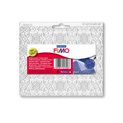 FIMO Felületmintázó, műanyag - keleti, 15,5x16,5 cm