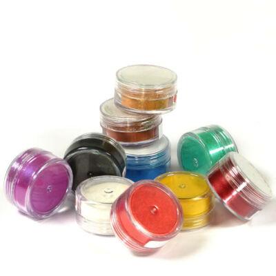 Műgyanta gyöngyház effekt pigment színező por - különféle színekben