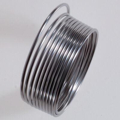 Alumínium drót, 1 mm - 5 m - ezüstszínű