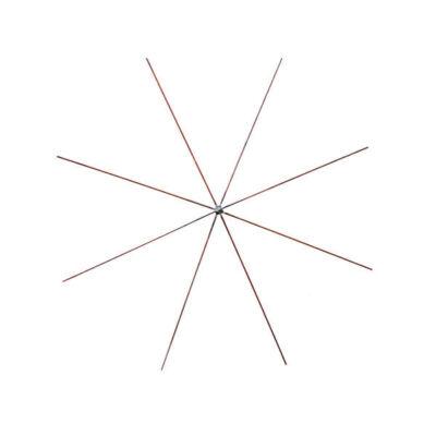 Drótcsillag gyöngyfűzéshez - 10 cm