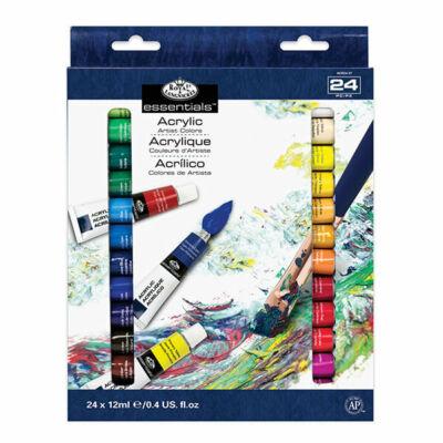 Royal & Langnickel akrilfesték készlet, 24 db-os, 24x12 ml