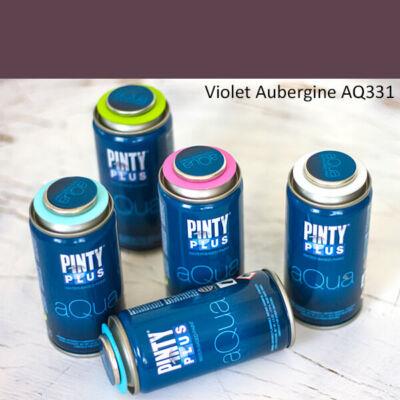 Pinty Plus Aqua, vízbázisú festékspray, 150 ml - 331 Violet Aubergine