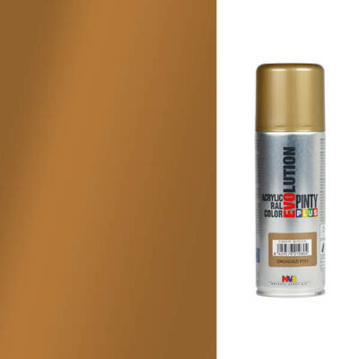 Akrilfesték spray, EVOLUTION fényes, 200 ml - P152 bronz