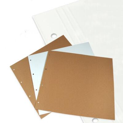 Scrapbook albumlap - fehér, 30x32 cm, 1 db