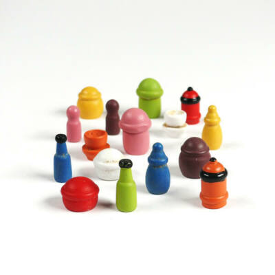 Mini fadísz csomagban - edények, színes
