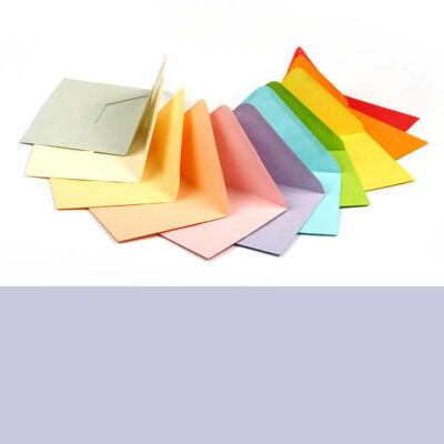 Boríték, C6, 11x16 cm - színes, violet, 80 g