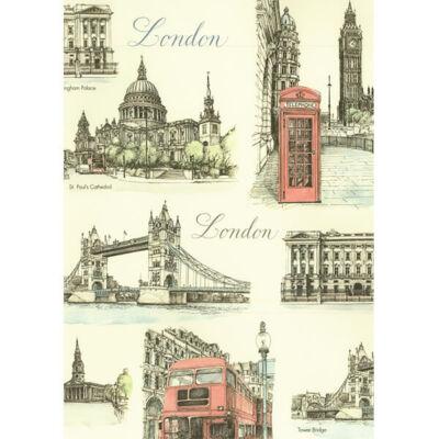 Tassotti decoupage papír - London