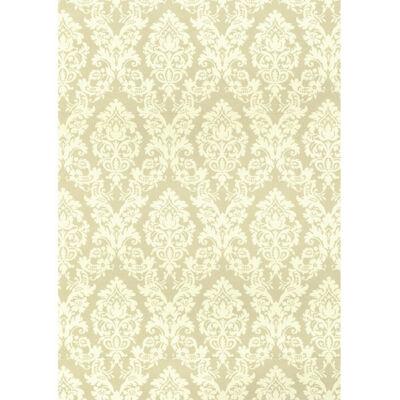 Tassotti decoupage papír - brokát, bézs