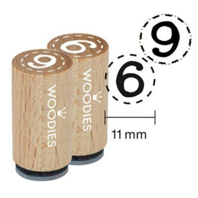 Pecsételő, Woodies, 1,3 cm - 6, 9