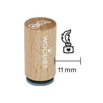 Pecsételő, Woodies, 1,3 cm - Tintásüveg