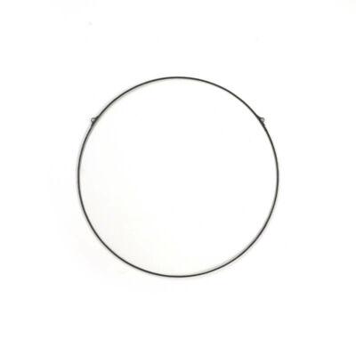 Üveglap ólomkerettel, kerek - 20 cm