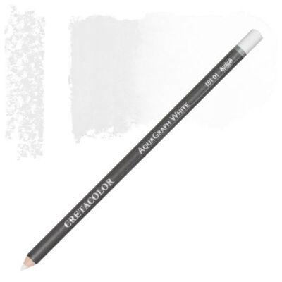 Cretacolor AquaGraph vízzel elmosható grafitceruza - fehér