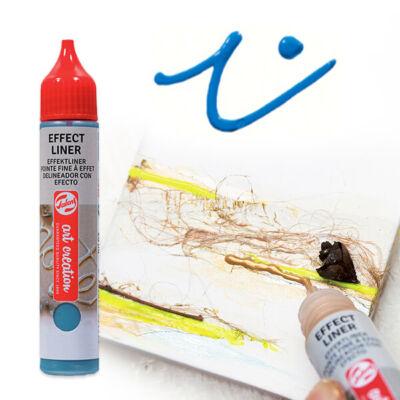 Art Creation Effect Liner, univerzális 3D festéktoll, 28 ml - 5004 Brilliant blue