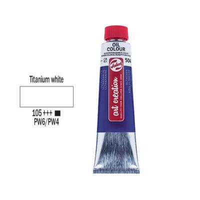 Talens Art Creation olajfesték, 40 ml - 105, Titanium white