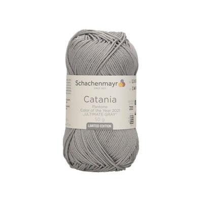 Catania Trend Panton 2021 limitált pamut fonal, 50 g - 22021 ultimate gray
