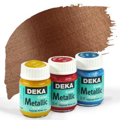 Deka Color Metallic metál akrilfesték 25 ml - 82 réz