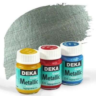 Deka Color Metallic metál akrilfesték 25 ml - 96 ezüst