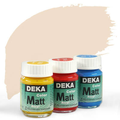 Deka Color Matt akrilfesték 25 ml - 13 testszín