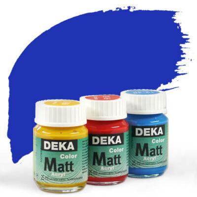 Deka Color Matt akrilfesték 25 ml - 51 ultramarinkék