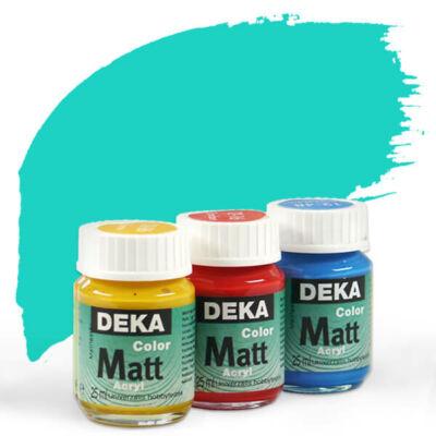 Deka Color Matt akrilfesték 25 ml - 58 türkiz