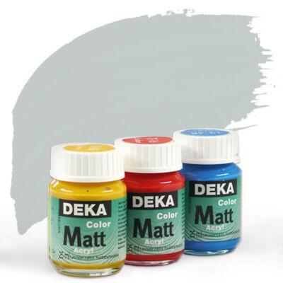 Deka Color Matt akrilfesték 25 ml - 96 ezüst