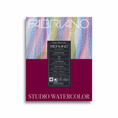Fabriano Stúdió akvarelltömb, 200 g - 24x32 cm - 20 lap