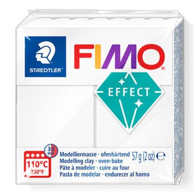 FIMO Effect süthető gyurma, 57 g - áttetsző fehér (8020-014)