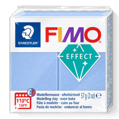 FIMO Effect süthető gyurma, 57 g - achát kék (8020-386)