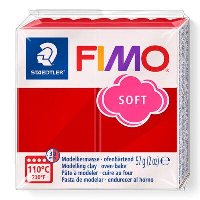 FIMO Soft süthető gyurma, 57 g - karácsonyi piros (8020-2)