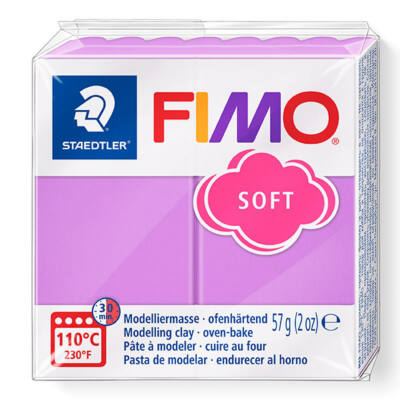 FIMO Soft süthető gyurma, 57 g - levendula (8020-62)