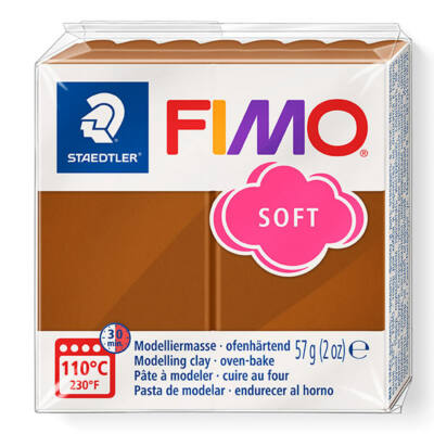 FIMO Soft süthető gyurma, 57 g - karamell (8020-7)