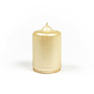 Adventi gyertya - metál krém
