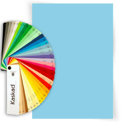 Kaskad színes fénymásolópapír, A/4, 80 g - 72, azúrkék, Merlin blue