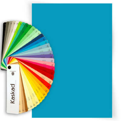 Kaskad színes fénymásolópapír, A/4, 80 g - 77, Peacock blue