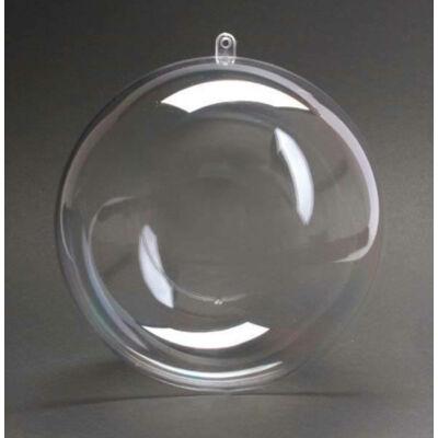 Kétrészes műanyag gömb - 10 cm