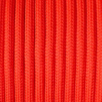 Paracord 550, méterben, 4 mm - piros