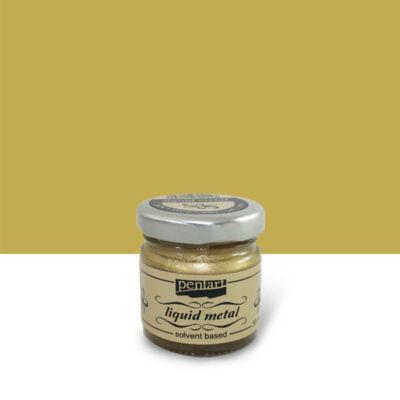 Pentart folyékony fém, 30 ml - arany