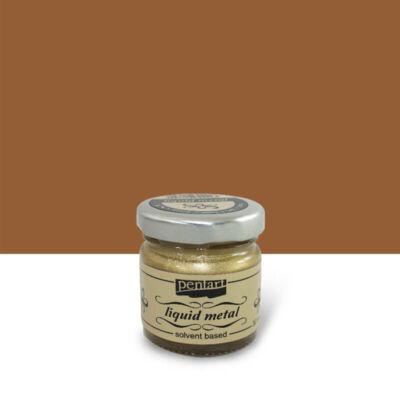 Pentart folyékony fém, 30 ml - bronz