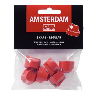 Szórófej Talens Amsterdam festéksprayhez, 6 db - általános
