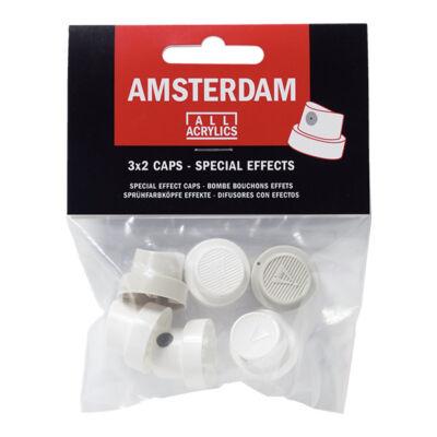 Szórófej Talens Amsterdam festéksprayhez, 6 db (3x2 db) - speciális