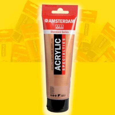 Talens Amsterdam akrilfesték, 120 ml - 268, azo yellow light
