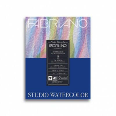 Fabriano, Watercolour tömb, 300 g, 24 x 32 cm - 20 lap