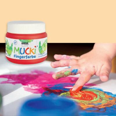 Ujjfesték, Mucki, 150 ml - bőrszín