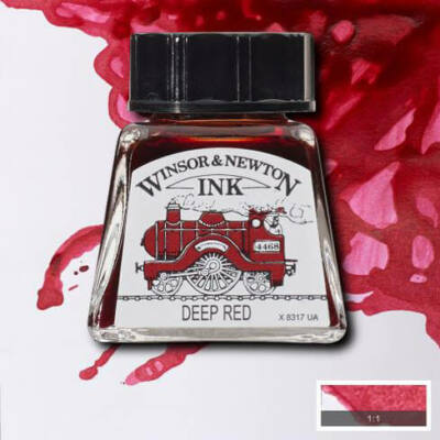 Winsor&Newton tinta, 14 ml - 227, deep red