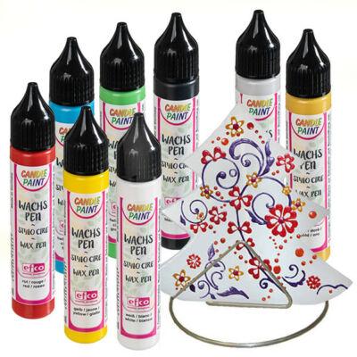 Candlepaint gyertyafestő toll, 28 ml - különféle színekben