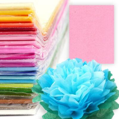 Selyempapír csomagban, 50x76 cm, 20 g, 24 db - világos rózsaszín