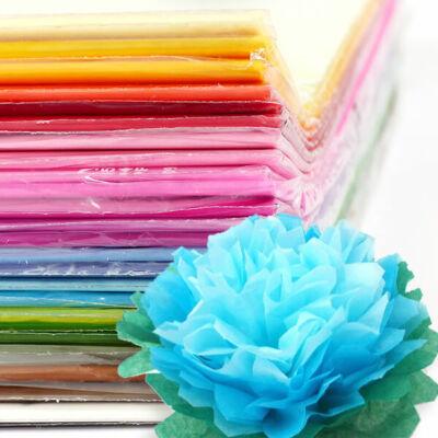 Selyempapír csomagban, 50x76 cm, 20 g, 24 db - különféle színekben