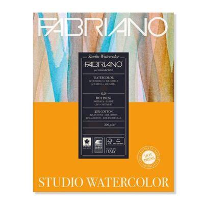 Fabriano Studio Watercolour akvarelltömb, 200 g, 28x35,6 cm, 20 lap, sima