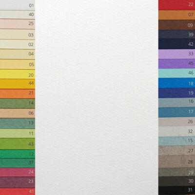 Fabriano Tiziano színes rajzpapír, A4 - 01 - bianco